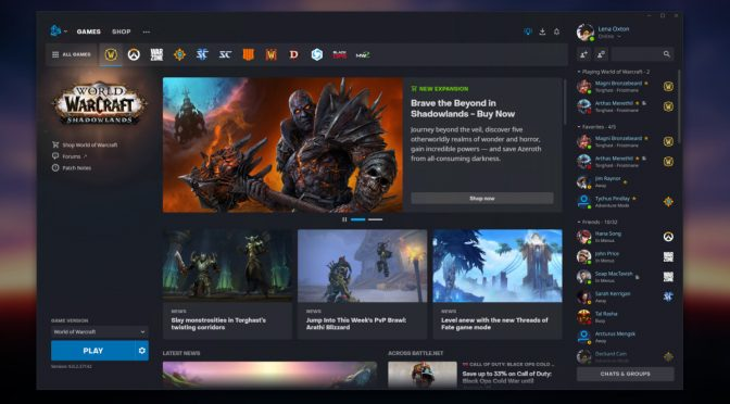 Blizzard launches Battle.net 2.0 – VentureBeat