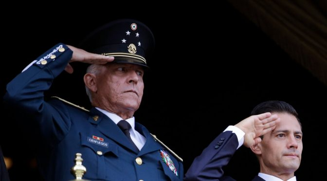 Mexico Clears Salvador Cienfuegos, Ex-Defense Minister, in Drug Case – The New York Times